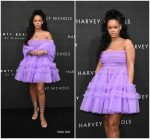 Rihanna In Molly Goddard – 'FENTY Beauty' By Rihanna Harvey Nichols Launch