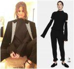 Selena Gomez  In YSL &  Zoë Jordan – NYFW