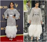 Tracee Ellis Ross  In Chanel  Couture  – 2017 Emmy Awards