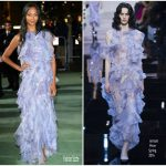 Zoe Saldana In Armani Privé – Green Carpet Fashion Awards