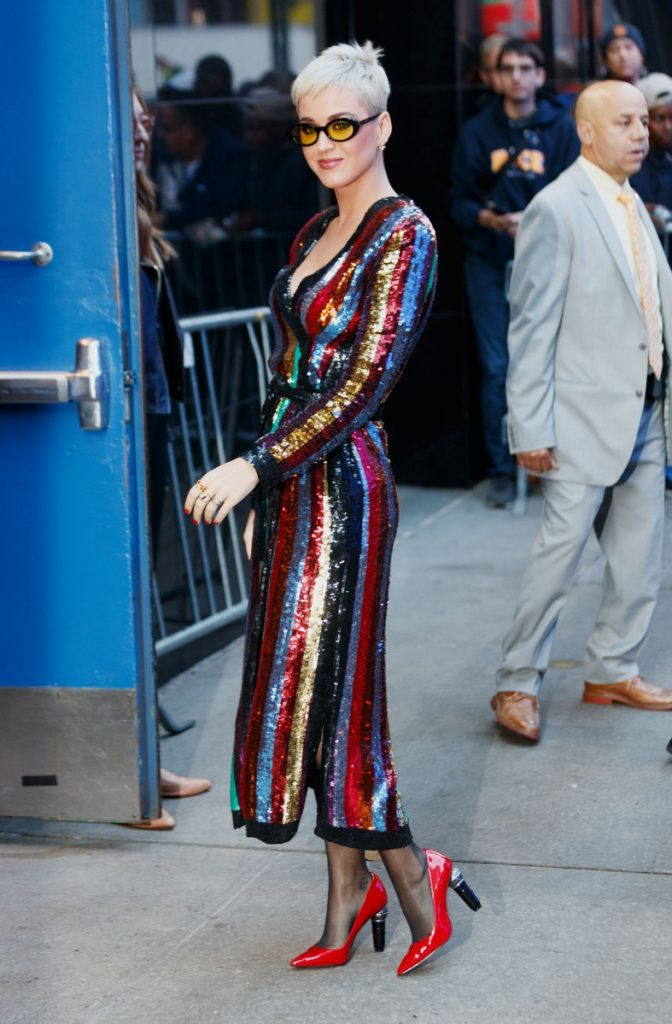 Katy Perry In Attico Good Morning America Fashionsizzle