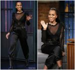 Kerry Washington In Faith Connexion & Redemption @ Late Night With Seth Meyers