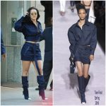 Rihanna In Tom Ford  At Vogue's Forces Of Fashion Conference