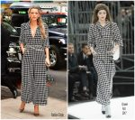 Blake Lively In Chanel   –  'All I See is You'  Promo Tour In New York