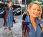 Blake Lively in Jonathan Simkhai @ 'All I See is You' NY Promo Tour