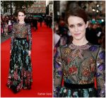 Claire Foy In Gucci – 'Breathe' London Film Festival Premiere & Opening Night Gala