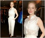 Emma Stone In Givenchy – 'Battle Of The Sexes' London Film Festival Premiere After-Party
