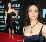Emmy Rossum In Narciso Rodriguez – 'SMILF' LA Premiere