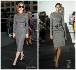 Jessica Chastain In Ralph Lauren  At  Power To Shake It Up Panel