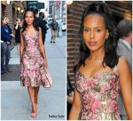 Kerry Washington In Dolce & Gabbana – The Late Show With Stephen Colbert