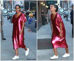 Tracee Ellis Ross In J.C. Penney  At  The Late Show With Stephen Colbert
