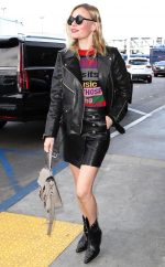 Kate Bosworth In Etro – LAX Airport