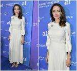 Angelina Jolie In Ulyana Sergeenko – Gkids' 'The Breadwinner' Premiere
