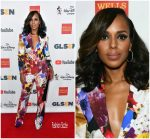 Kerry Washington In Roberto Cavalli –  GLSEN  Respect Awards