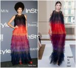 Zendaya  In Schiaparelli Couture At In StyleAwards