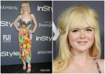 Elle Fanning In Versace At InStyle Awards