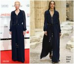 Tilda Swinton In  Chanel At Lumiere Film Festival Opening Ceremony