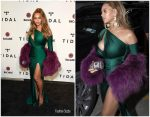 Beyonce In Walter Mendez At TIDAL X Brooklyn