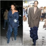 Rihanna In Matthew Adams Dolan –  Out In  New York