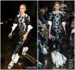 Adwoa Aboah In Simone Rocha  @ British Vogue's December Issue Dinner Party