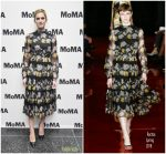 Allison Williams in Rochas – the MoMA's Contenders Screening of 'Get Out'