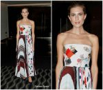 Allison Williams In Schiaparelli Couture  At  'Get Out' LA Screening