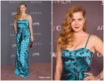 Amy Adams in Gucci @  2017 LACMA Art + Film Gala