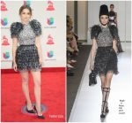 Ana De Armas In Ralph & Russo Couture At 2017 Latin Grammy Awards