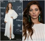 Angela Sarafyan In Mario Dice – HFPA and Instyle Celebration of the 2018 Golden Globe Awards
