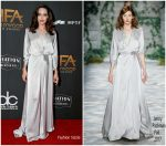Angelina Jolie In Jenny Packham – 2017 Hollywood Film Awards