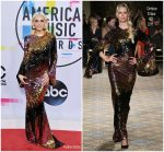Ashlee Simpson Ross In Christian Siriano – 2017 American Music Awards