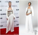 Bella Hadid  In Cristina Ottaviano  – 2017 Glamour Women Of The Year Awards