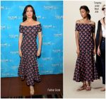 Bellamy Young  In Temperley London  – 2017 Vulture Festival LA.