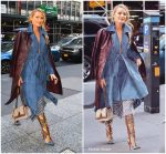 Blake  Lively In  Johnathan Simkhai – 'All I See Is You'  Promo In New York
