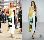 Blake Lively In  Oscar de la Renta – Good Morning America