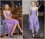 Blake Lively In Roland Mouret – The Tonight Show Starring Jimmy Fallon