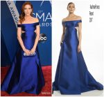 Brittany Snow In KaufmanFranco  At  2017 CMA Awards