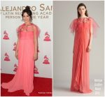 Camila Cabello In Monique Lhuillier – The Latin Recording Academy's 2017 Person Of The Year Gala