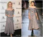 Carey Mulligan In Erdem  At  Harper's Bazaar Women Of The Year Awards 2017