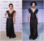 Catherine Zeta Jones In Temperley London @ British Luxury Awards