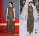 Claire Foy In Christian Dior  @ 'The Crown' Season 2 London Premiere