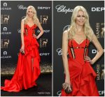 Claudia Schiffer In Atelier Versace  @ 2017 Bambi  Awards