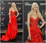 Claudia Schiffer In Atelier Versace  @ 2017 Bambi  Awards