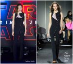 Daisy Ridley In Paco Rabanne  At  'Star Wars: The Last Jedi' Mexico City Premiere