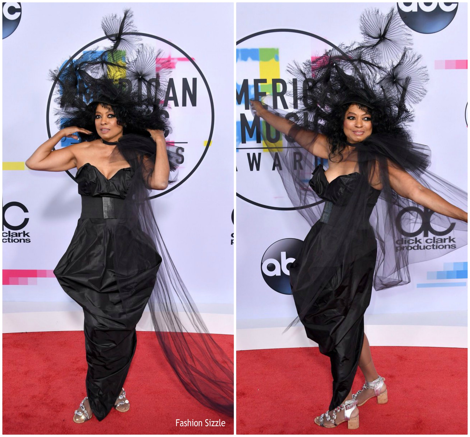 diana ross in vivienne westwood 2017 american music awards