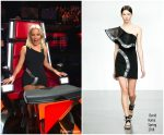 Elizabeth Banks In David Koma  @ The Voice