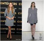 Elizabeth Olsen In Dion Lee  At  Deadline's The Contenders