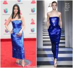 Emeraude Toubia  In Oscar De La Renta  –   2017 Latin Grammy Awards