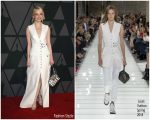 Emma Stone  In Louis Vuitton – Academy Of Motion Picture Arts And Sciences' 9th Annual Governors Awards