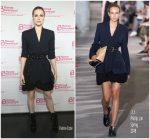 Evan Rachel Wood In 3.1 Phillip Lim  At Planned Parenthood Advocacy Project